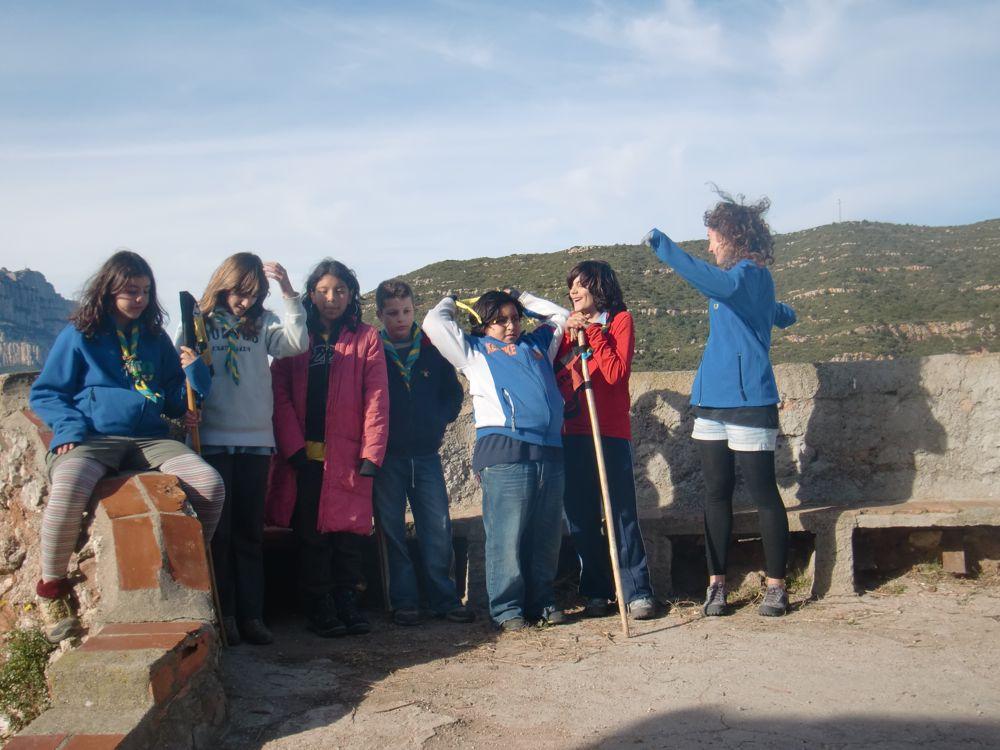 Raiers Sortida Sant Salvador de les Espases 2010 - CIMG0388.JPG