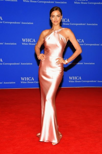Irina Shayk attends the 101st Annual White House