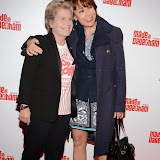 WWW.ENTSIMAGES.COM -   Sandy Toksvig  and Kathy Lette   arriving at     Made In Dagenham - press night at Adelphi Theatre London November 5th 2014Comedy musical based on the hit British film.                                                  Photo Mobis Photos/OIC 0203 174 1069