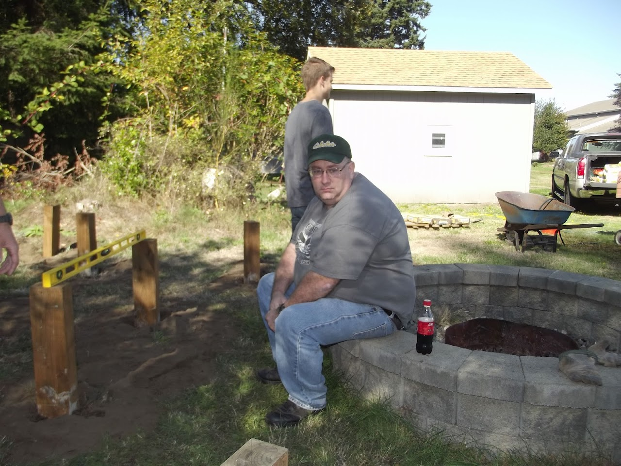Carsons Eagle Project - October 2015 - DSCF3823.JPG