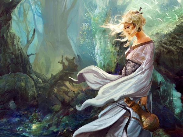 Magian Wizard, Fantasy Girls 1