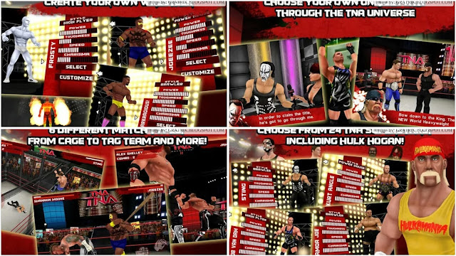 TNA or Total Nonstop Action Wrestling is only about other variety of extreme fighting  Foneboy TNA Wrestling Impact APK Android Game Download