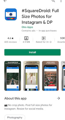 How to put full pic in whatsapp dp