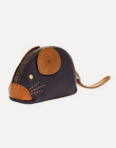 Fieldmouse coin purse by Joules