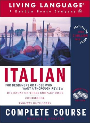 Italian Complete Course: Basic-Intermediate, Compact Disc Edition (LL(R) Complete Basic Courses) - Books Languages