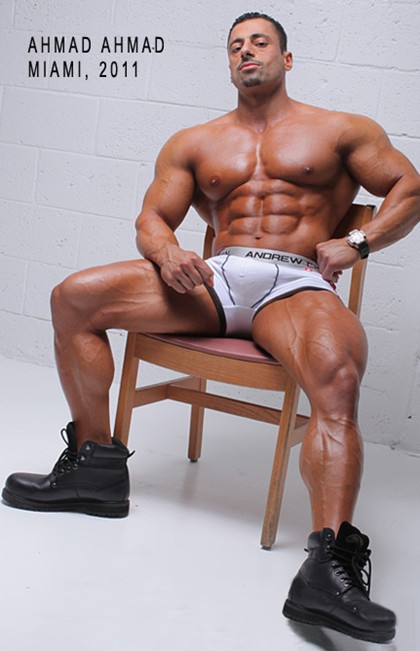 Ahmad Ahmad - Competitive Male Bodybuilder - MuscleGallery