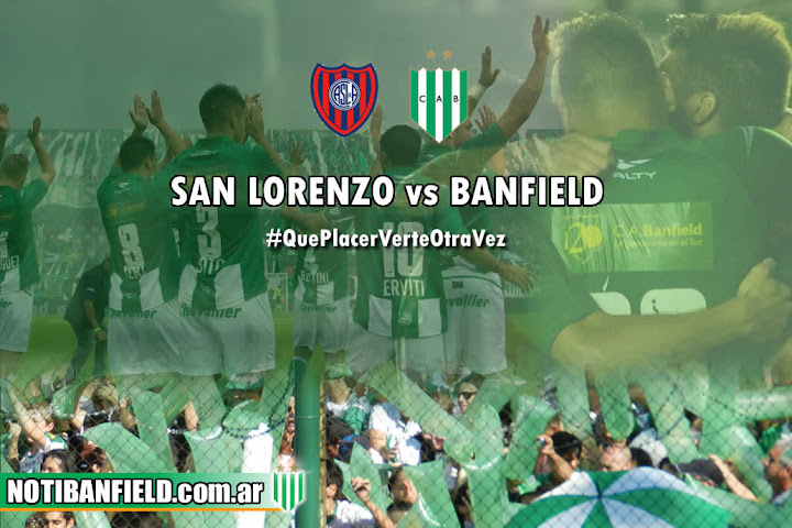 PREVIA BANFIELD VS SAN LORENZO