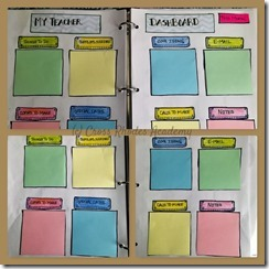 Teacher Dashboard pages