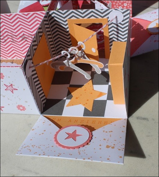 Baby Explosion Box vierfach Kinderzimmer Kinderwagen Garten Girl 06