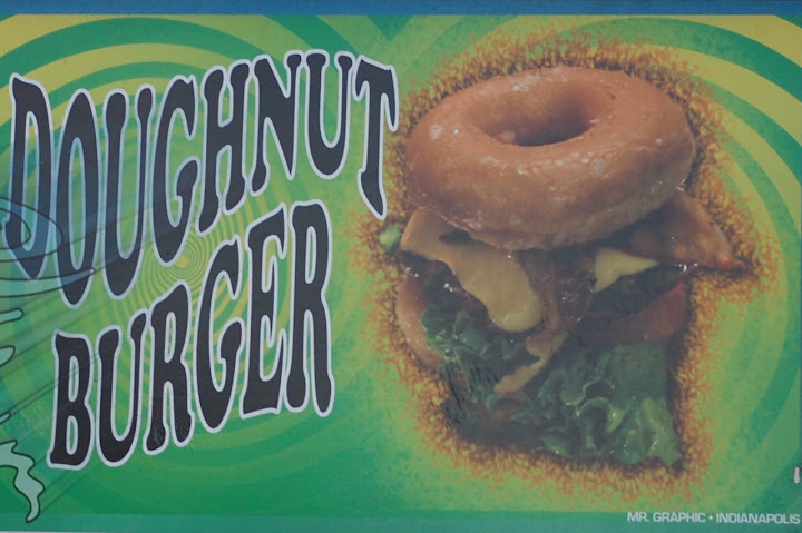 Dougnut Burger -   Don't dare ask how many calories!