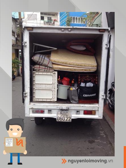 Chuyển nhà bằng xe tải 500kg