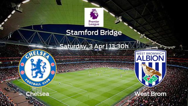 Watch Live Stream Match: Chelsea vs West Bromwich Albion (Premier League)