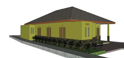 desain rumah tinggal dari arsitek