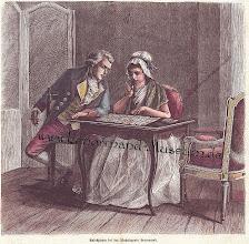 Photo: Lenormand kisasszony és Robespierre