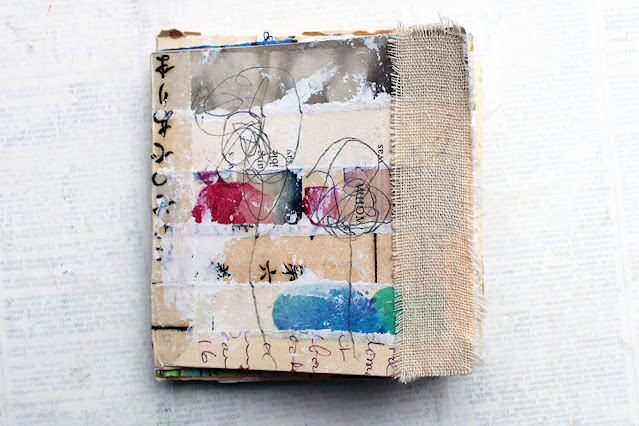 Bookbinding with scraps