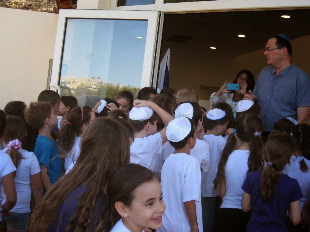 Receiving Torah 2nd grade 2012  - IMG_5295.jpg