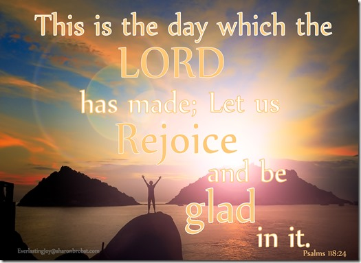 Choose to rejoice