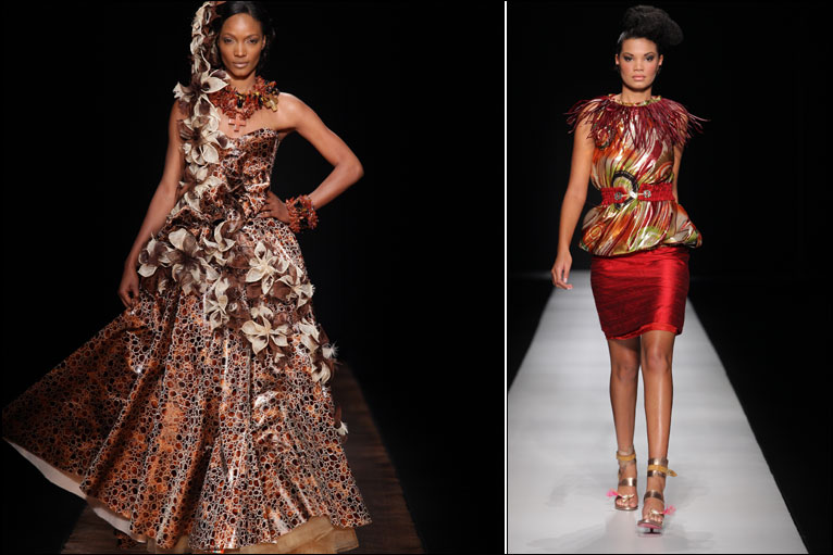 david tlale traditional dresses 2017