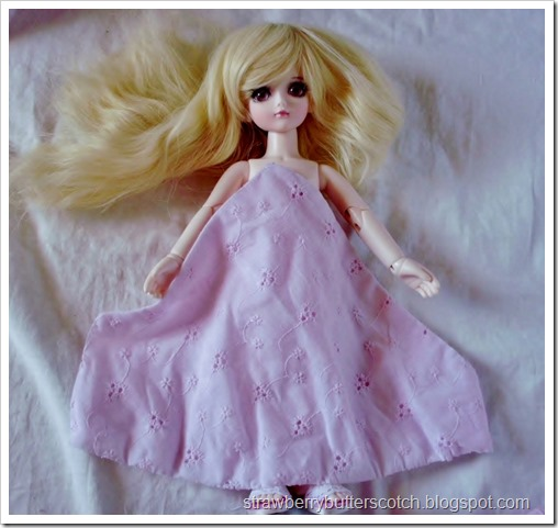 Pretty and Pink: From Dress to Cute Skirt and More: Making doll clothes with leftovers