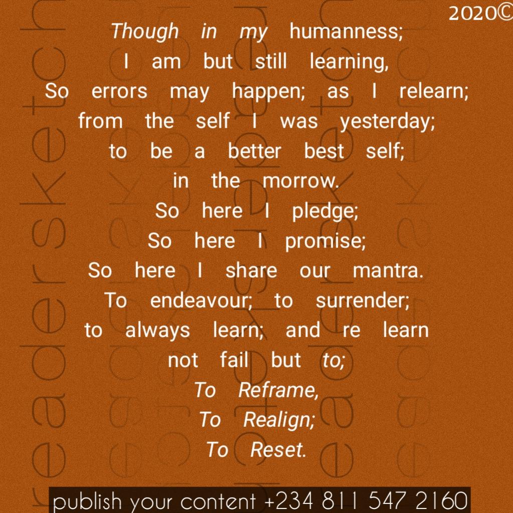 Readersketch, poem