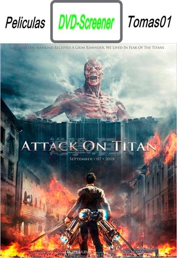 Shingeki no kyojin (Attack on Titan) (2015) DVDScreener