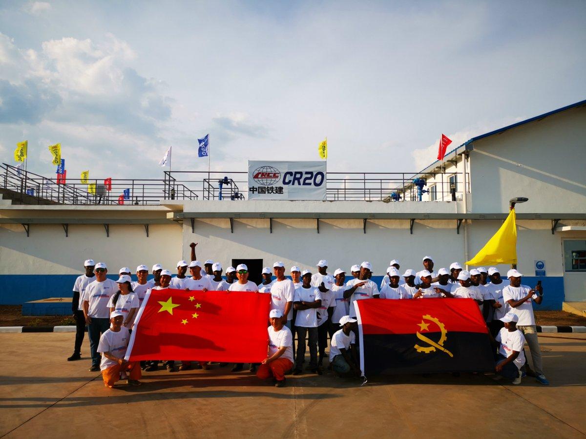 Angola Chinese water project.