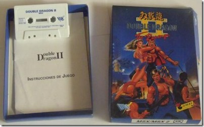Double Dragon 2 msx