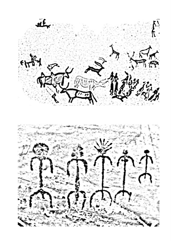 Cave Paintings coloring pages