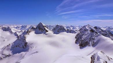 Photo: Piz Buin (3312 m) and Ochsentaler Gletscher
