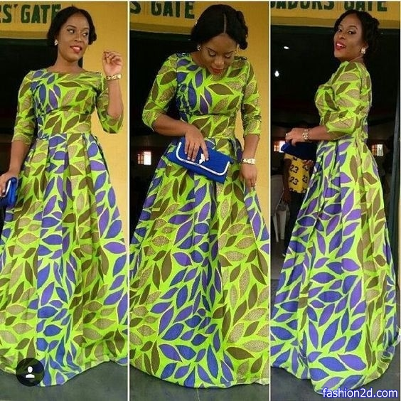 The Latest Ankara Styles For Wedding Guests - Fashion 2D