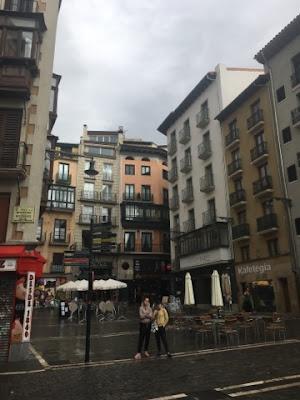 Santjago ceļš. 2. diena. Pamplona.