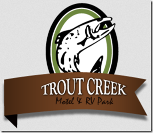 Trout Creek Motel and RV Park.