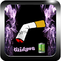 New Battery Widget Cigarette icon