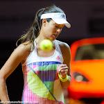STUTTGART, GERMANY - APRIL 21 : Ana Ivanovic in action at the 2016 Porsche Tennis Grand Prix