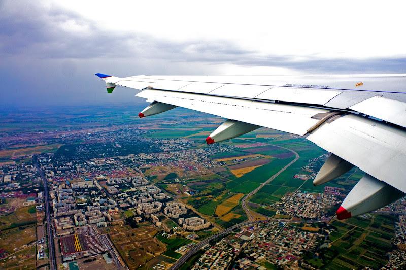 полет в Ургенч