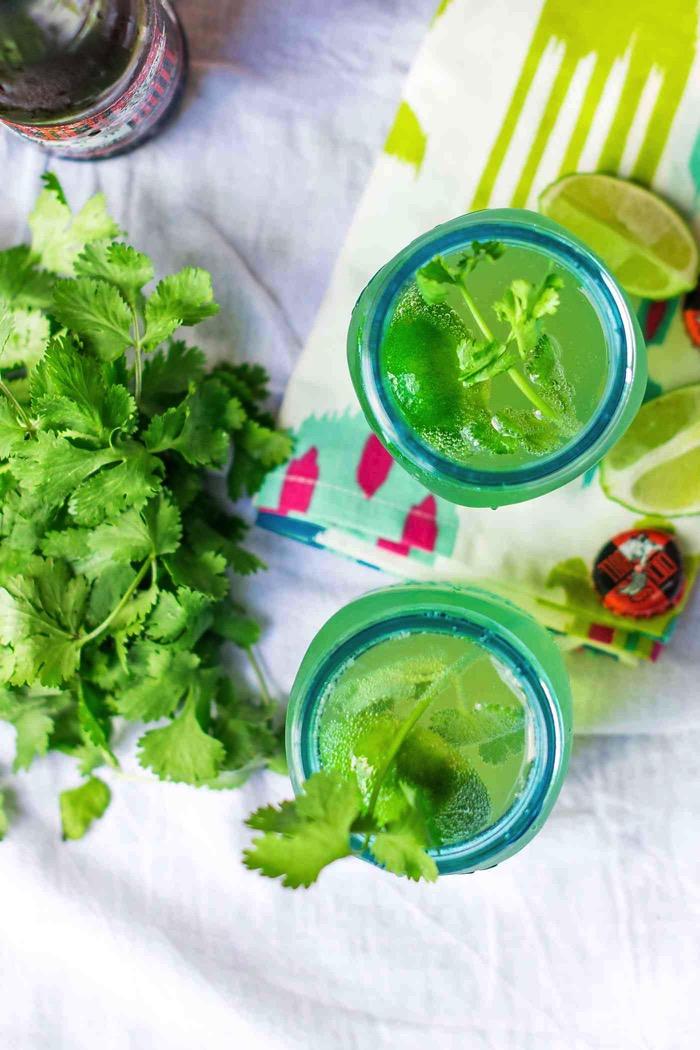 Moscow Mule Recipe Twist Cilantro Lime recipe