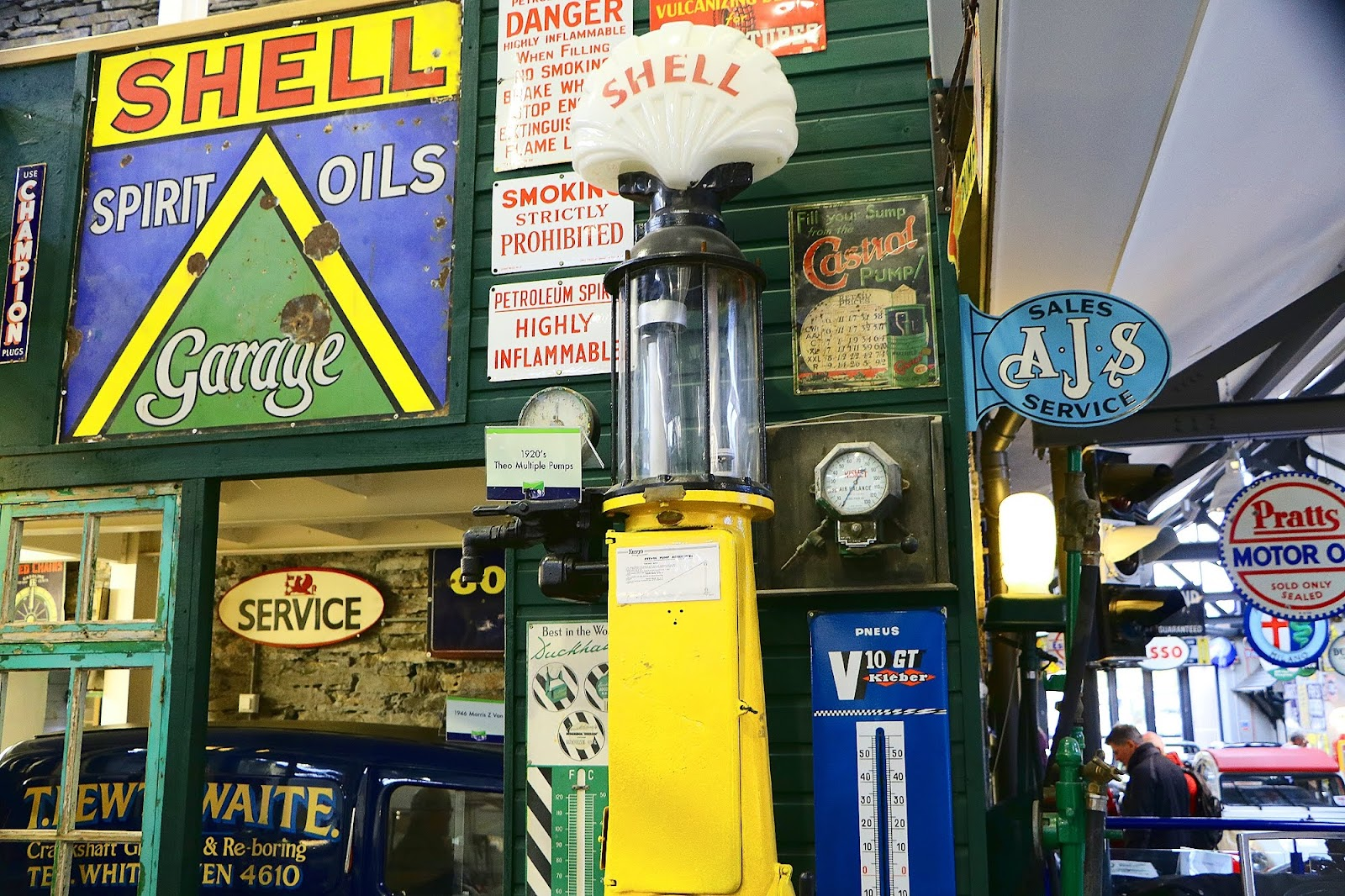 Shell Fuel Pump and Memorabilia.jpg