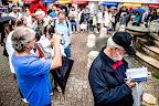 Budapest, 2016. június 11. A 87. Ünnepi Könyvhét a budapesti Vörösmarty téren 2016. június 11-én. MTI Fotó: Balogh Zoltán