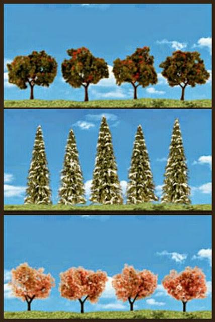 árboles Classics woodlandscenics