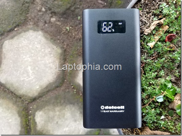 Delcell Tornado 10000mAh Review: Power Bank Murah dengan Qualcomm Quick Charge 3.0