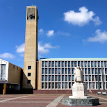 city hall in IJmuiden, Velsen in Velsen, Noord Holland, Netherlands