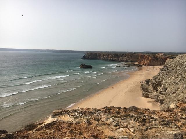 Sagres forteresse plage