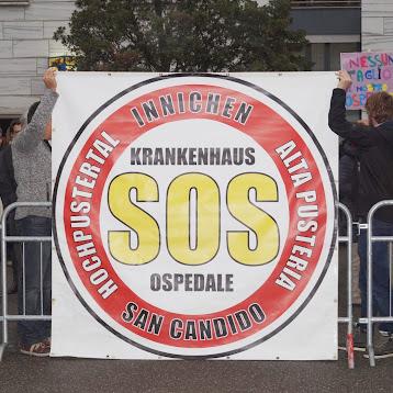 Demo Landtagsanhörung zur Sanitätsreform 27.11.14