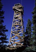 Photo: Black Butte Fire Tower, Cascade Mountains, Oregon