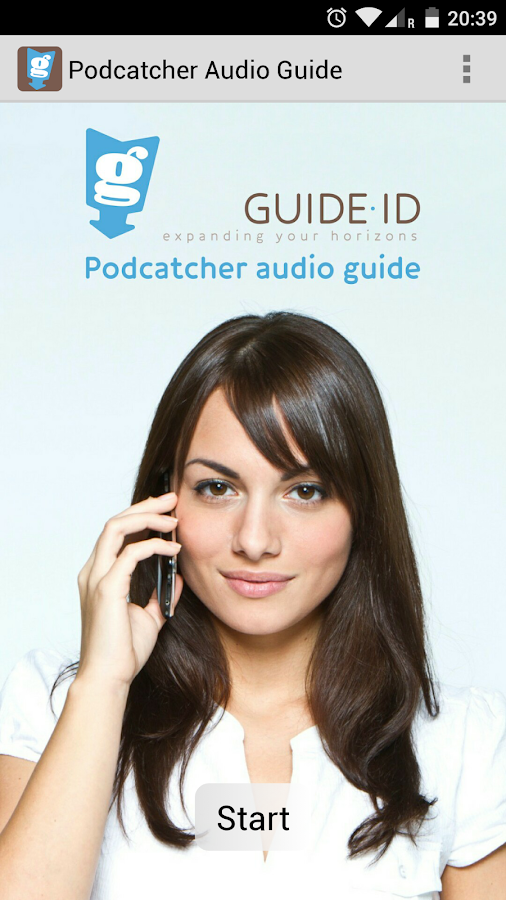 Podcatcher Audio Guide- screenshot