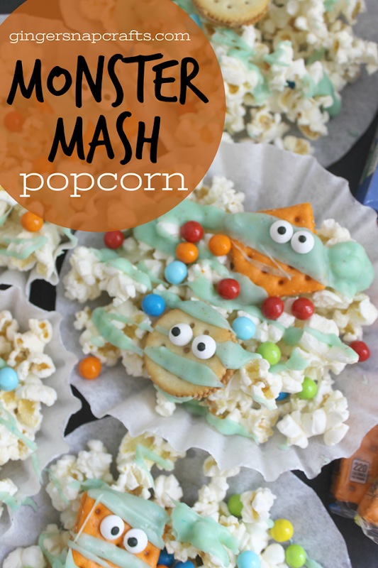 Monster Mash Popcorn at GingerSnapCrafts.com