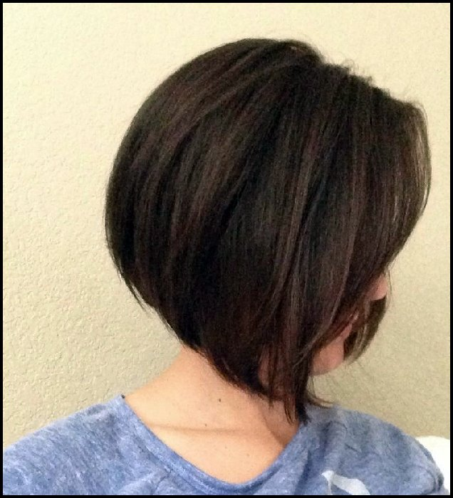Trendy A-Line Bob Hairstyles 2018: Simple Short Haircuts 2018 2