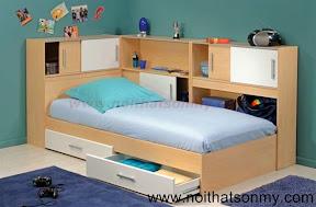 Giường ngủ phòng bé 356