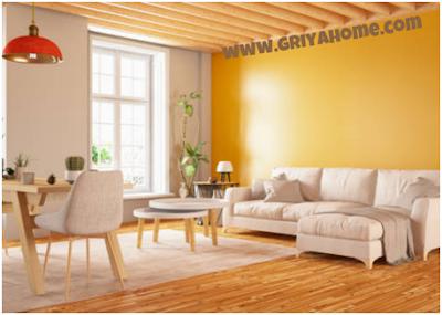 Cat Rumah Bagian Dalam Berwarna Kuning