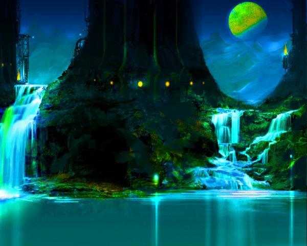 Dream Of Abandoned Landscape, Fantasy Scenes 3